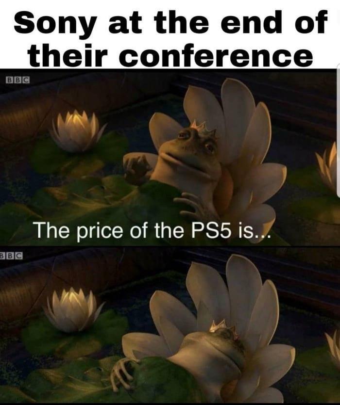 Почему не сказали цену PS5 на презентации