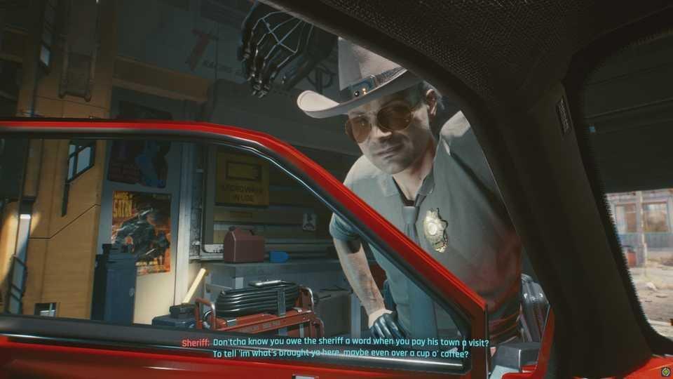 Самоуверенный шериф знай ты будешь в пути